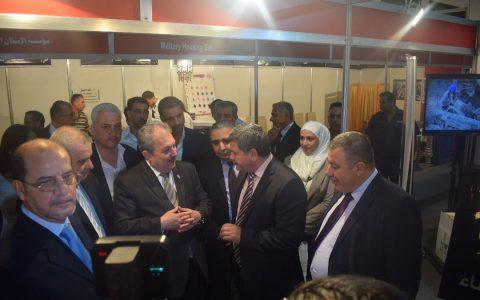 مشاركة فاعلة لشركة الانماء و البناء للتجارة و المقاولات م.م / DCTC / ضمن فعاليات المعرض الدولي لإعادة اعمار سورية